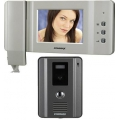 Commax 4 Wire Colour Video Doorphone Entry Kit CDV-50P+DRC40CK
