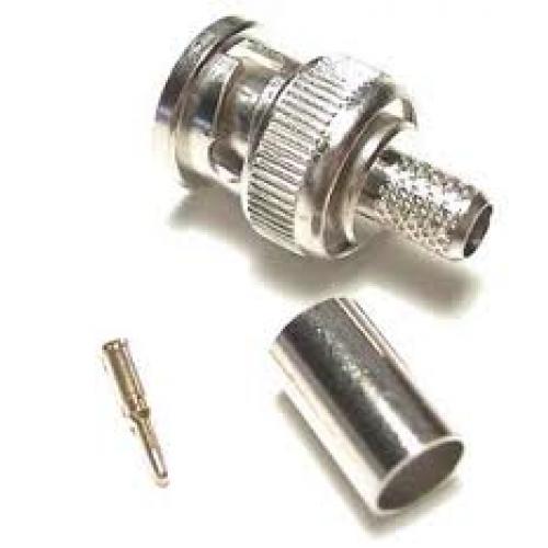 Bnc crimp type male connector