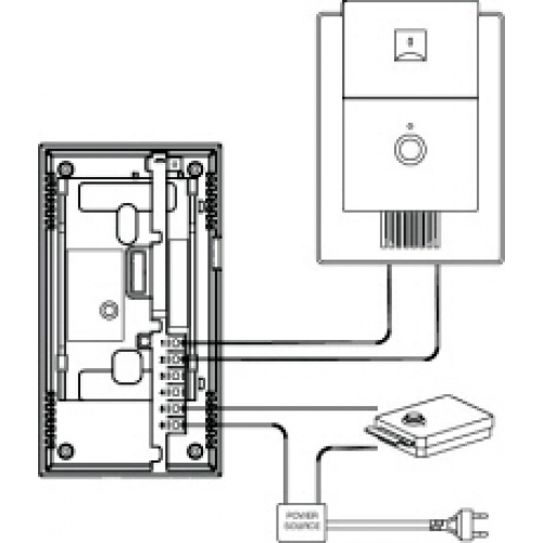 intercom wiring diagram the knownledge